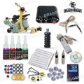 Hot Sales Starter Tattoo Kit 1 Machine Guns 4 Inks Power Supply Needles