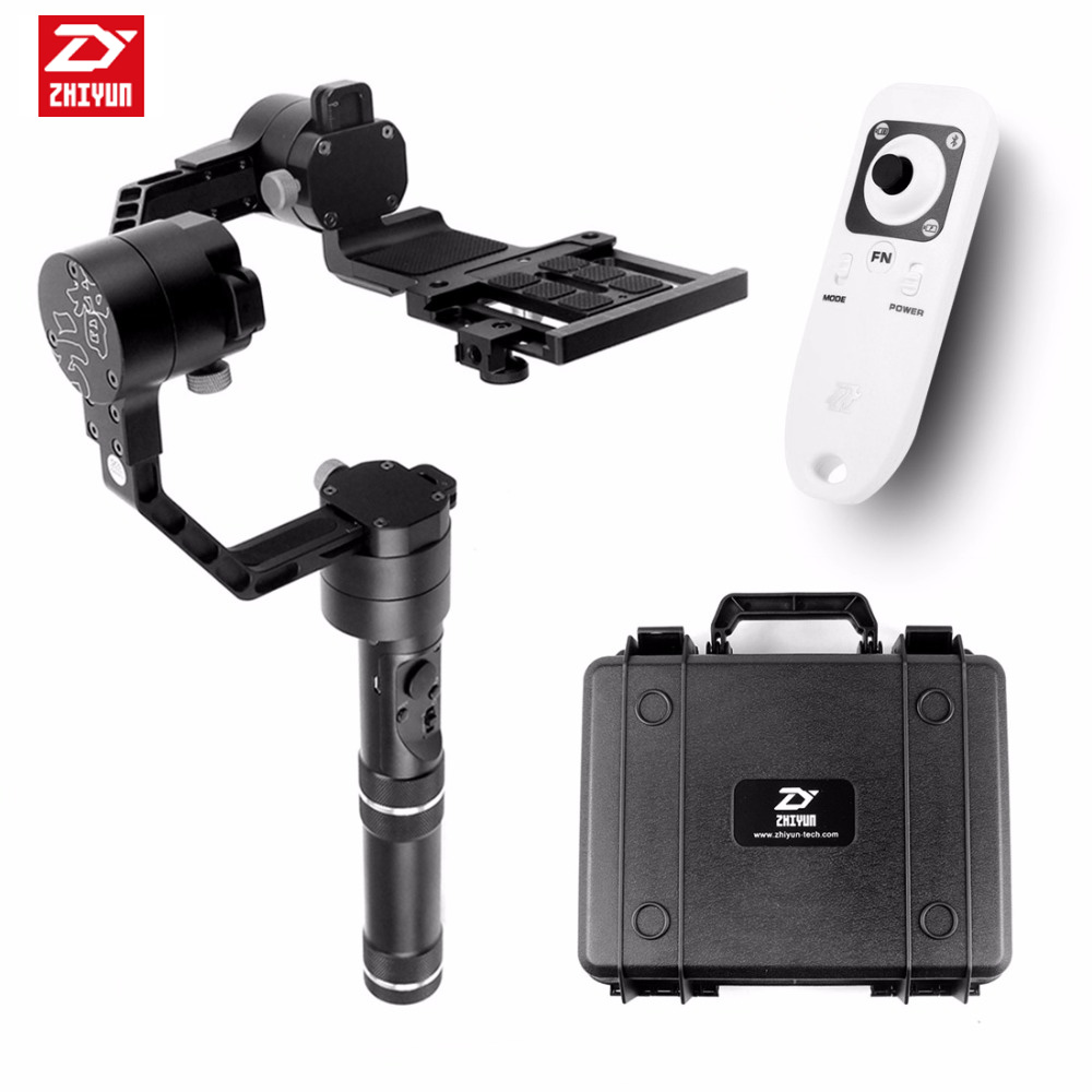 Zhiyun Crane 3 axi handheld stabilizer 3-axi gimbal for DSLR Canon Cameras Support 1.8KG F18164 afi vs 3sd handheld 3 axle brushless handheld steady gimbal stabilizer for canon 5d 6d 7d for sony for gh4 dslr q20185