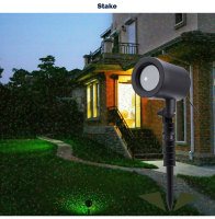 Aimbinet Outdoor Laser Projector Sky Star Spotlight Showers Landscape DJ Disco Lights R G Garden Lawn