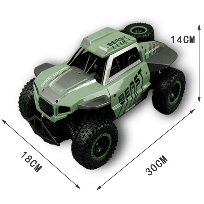 1/16 Remote Control Military Truck 4 Wheel Drive Off-Road RC Car Model Remote Control Climbing Car Truck Gift Toys for Children 1 16 2 4g rc military truck toy remote control cars remote control truck rock crawler off road dirt toys big wheel car kid gift