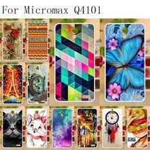 "Anunob Phone Cases For Micromax Vdeo 2 Q4101 Case Funda Micromax Bolt Warrior 1 Plus Q4101 4.5"" Cover Silicone Soft TPU Bumper(China)"
