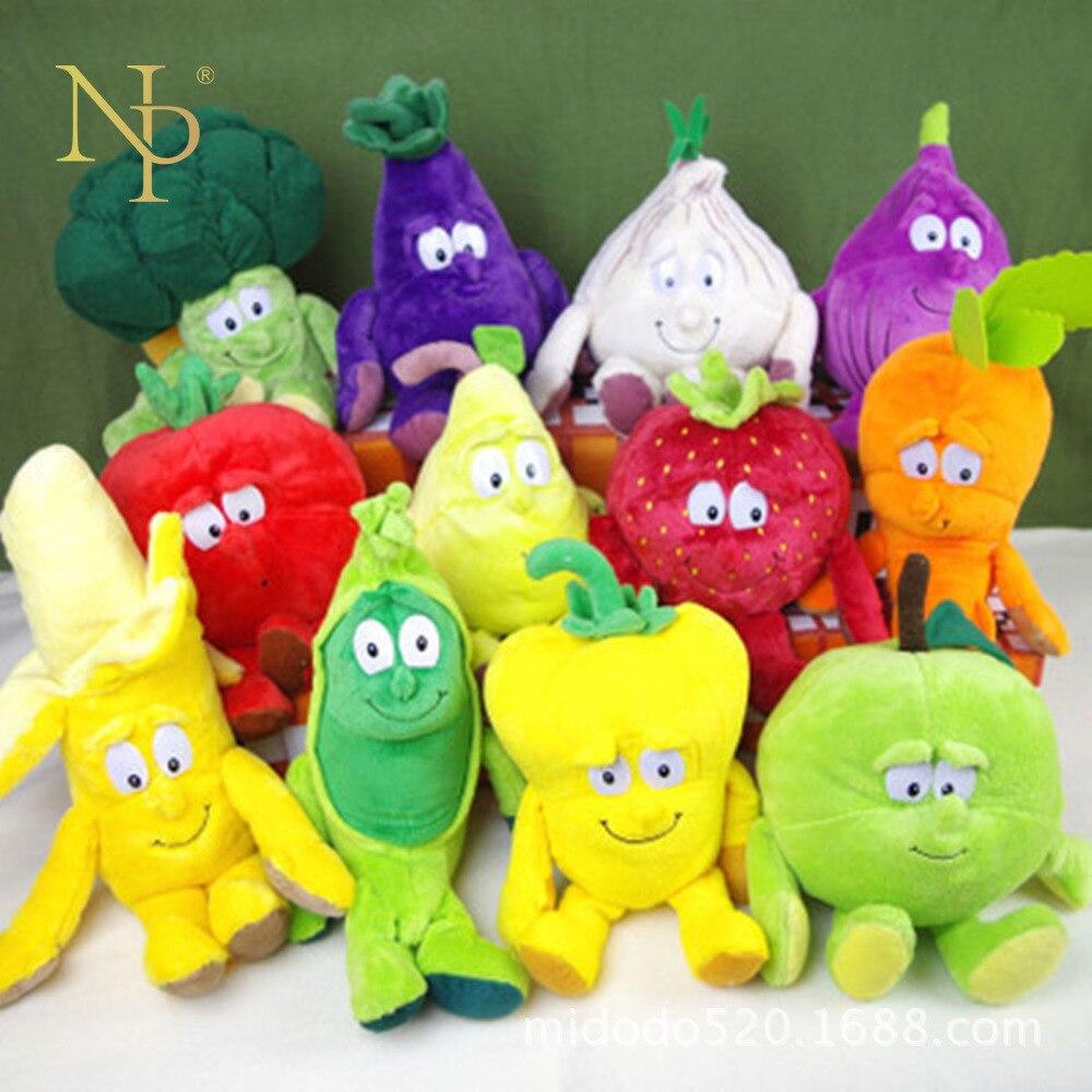Nicro legumes engraçados fruta bondade gang vitamini pelúcia brinquedo limitado travesseiro festa favores decoração festa # oth107
