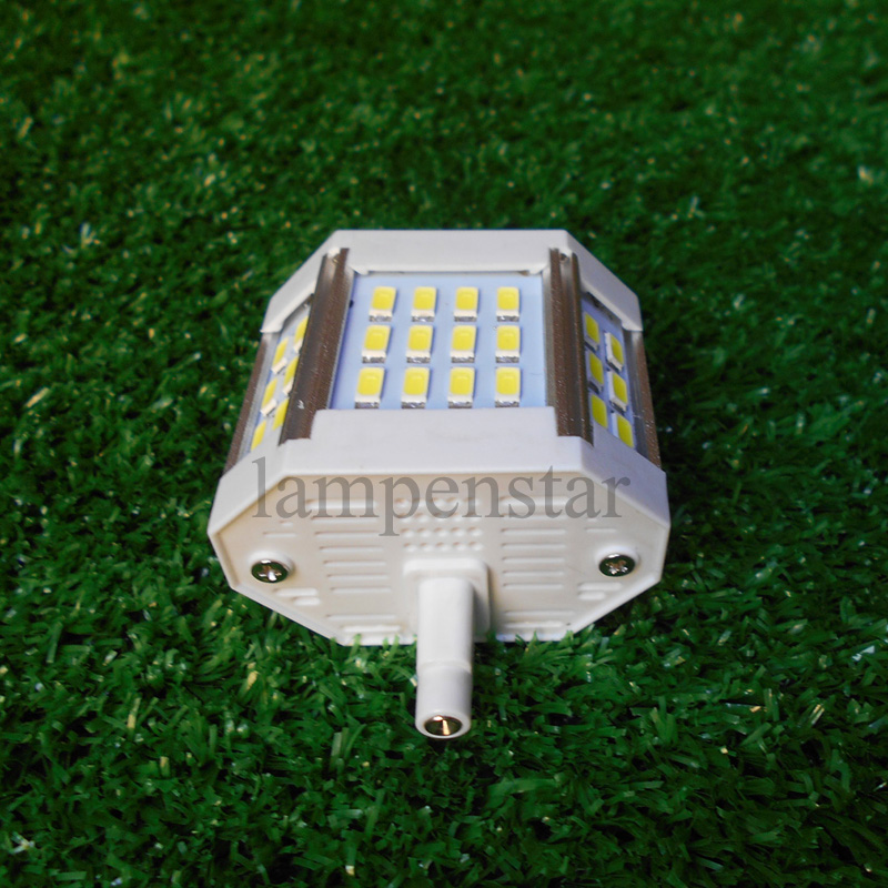 led r7s 78mm bulb light 10w 20w 25w 30w 220V 5730 Led Bulb Light 118mm Horizontal Plug led Light Lawn Lamp Halogen Floodlight high power dimmable 189mm led r7s light 50w cob r7s led lamp with cooling fan replace 500w halogen lamp
