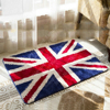 Icocopark British Flag Rug England Flag Non Slip Water Absorbing Rug Doormats Bathmat United Kingdom Flag
