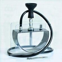 Новая мода Аравия вода дым кальян продукт костюм акриловые бутылка полукруг с чаша шланг табак для набора