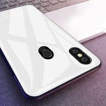 Coque téléphone en verre trempé pour Xiaomi Mi 8 Lite Mi 10 Pro Mi A1 A2 Lite Mi 9 6X 5X Mi Max 3 Mix 2S Mi8 SE Mi6 POCO X2 F2 Pro