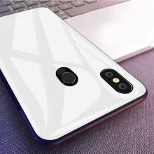 Gehärtetem Glas Telefon Fall Für Xiaomi Mi 8 Lite Mi 10 Pro Mi A1 A2 Lite Mi 9 6X 5X mi Max 3 Mix 2S Mi8 SE Mi6 POCO X2 F2 Pro Fall