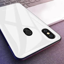 Tempered Glass Phone Case For Xiaomi Mi 8 Lite Mi A1 A2 Lite 6X 5X 6 Mi Max 3 Mix 2S Mi8 SE Mi6 8 Protective Glass Cover Cases