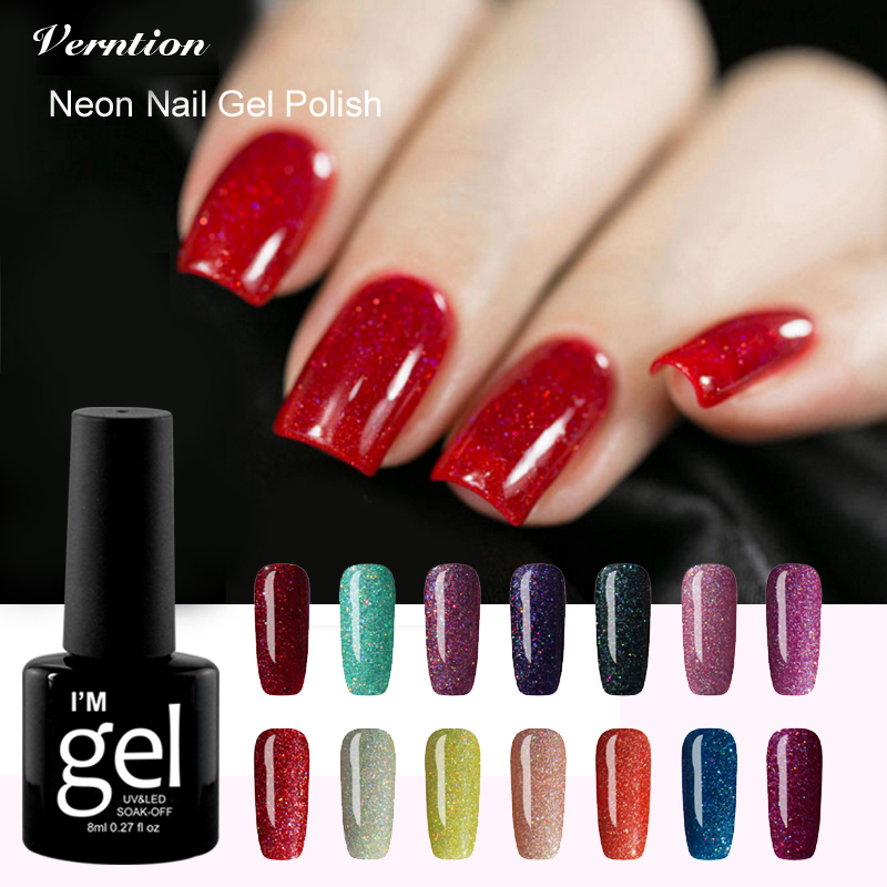 Aliexpress.com : Buy Verntion Gel Lucky Neon Nail Colorful