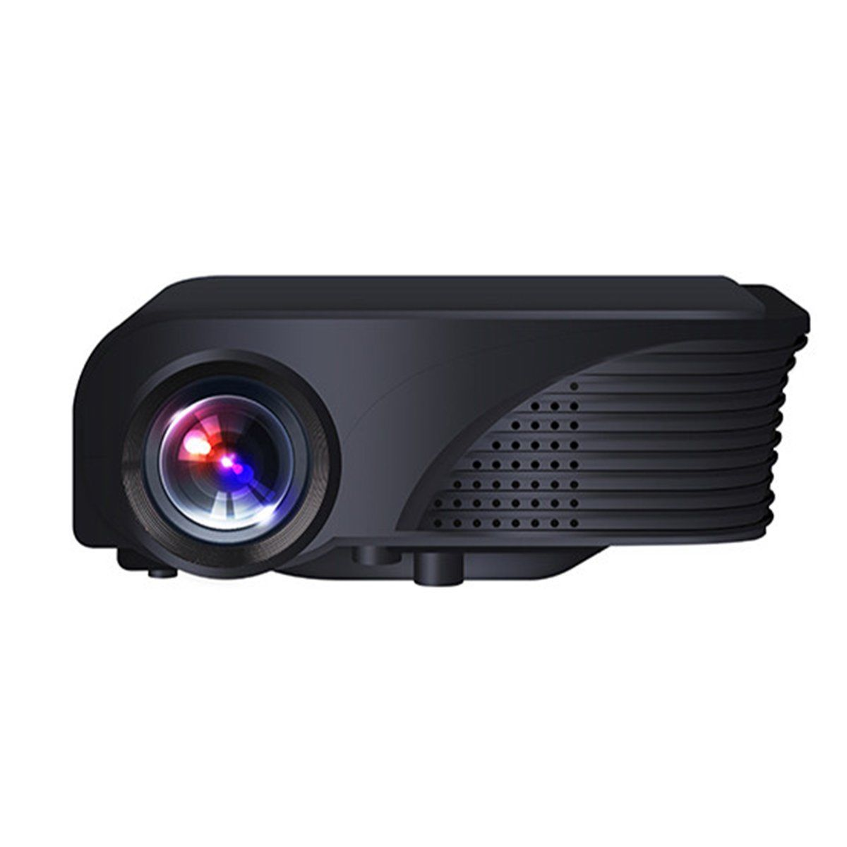Portable s320 mini 1800 1800 lumens hd 1080p video for Hd video projector