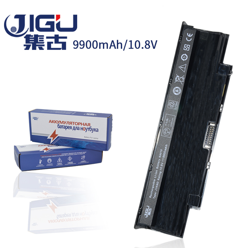 JIGU New Battery 9CELL Laptop Battery For Dell For Inspiron 14R N4010 N4010 148 15R N5010 17R N7010 9T48V J1KND battery xpress new netbook batterybattery tray - title=