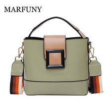 Patchwork Women Shoulder Leather Bag Crossbody Messenger Bags For Women Fashion Tote Ladies Bag Simple Handbag bolsa feminina women lady leather satchel handbag shoulder tote messenger crossbody bag crossbody bags for women 2017 luxury bolsa feminina