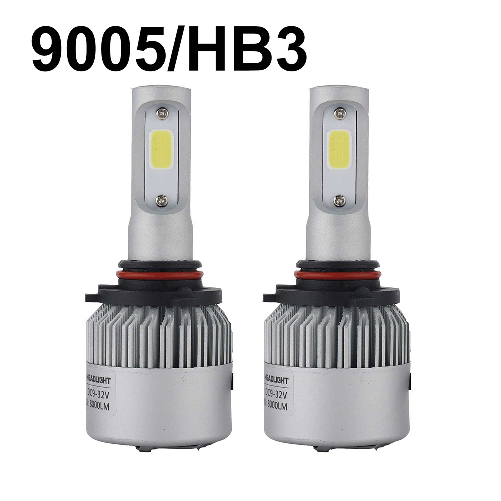 HB3 9005 Led Bulb HB4 9006 car Headlight lamp 6500k xenon white 72W 8000Lm COB Chips