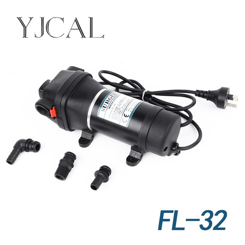 FL-32 110V 220V Small Household Electric Water Pump Water Heater Booster Self Priming Pump Temperature Control Pressure 100w 220v shower booster water pump