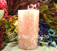 Nicole LZ0070 3D Cylinder Shape Soft Silicone Candle Molds Candle Craft Moulds