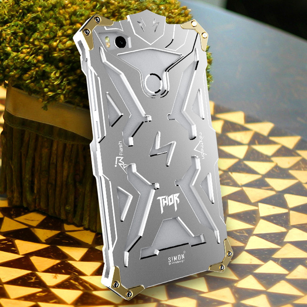 Simon Thor Ironman Body All Metal Aluminum Hard Rugged phone Case for font b Xiaomi b