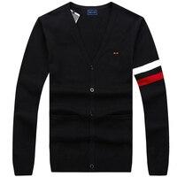 Eden Park 2017New Design Autumn Fashion Brand Clothing Men S Sweaters Solid Color Slim Fit Men