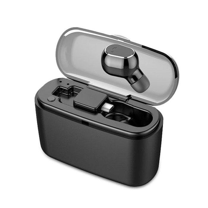 Mini TWS Portable Wireless Earphone Bluetooth Hifi Stereo In-Ear Mini Wireless Earphone with Charging Box USB Charging(China)