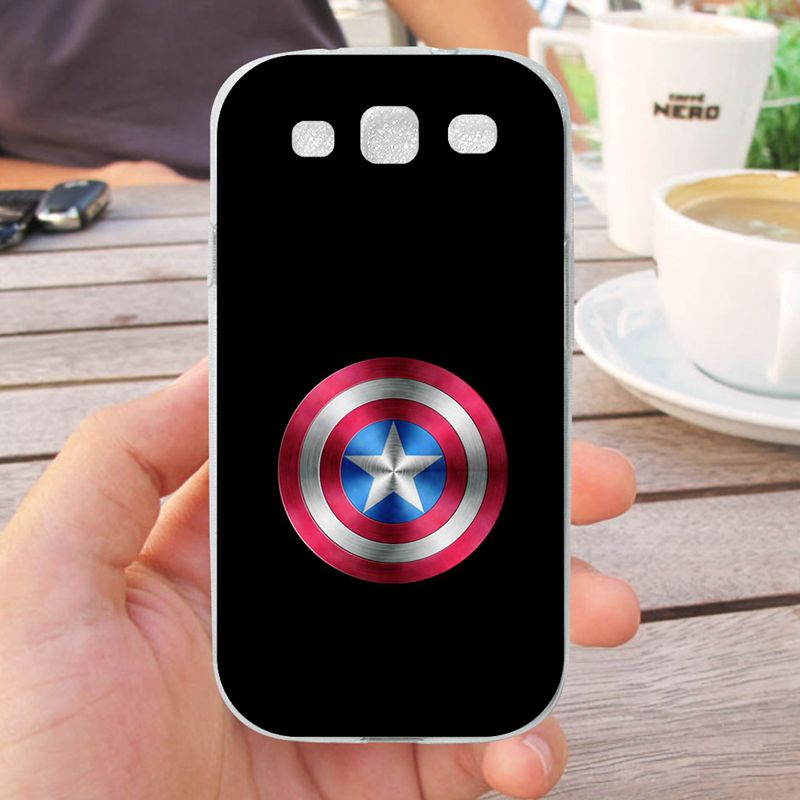 Mutouniao Avengers Design 10 Silicon Soft TPU Case Cover For Samsung Galaxy S3 S4 S5 S6