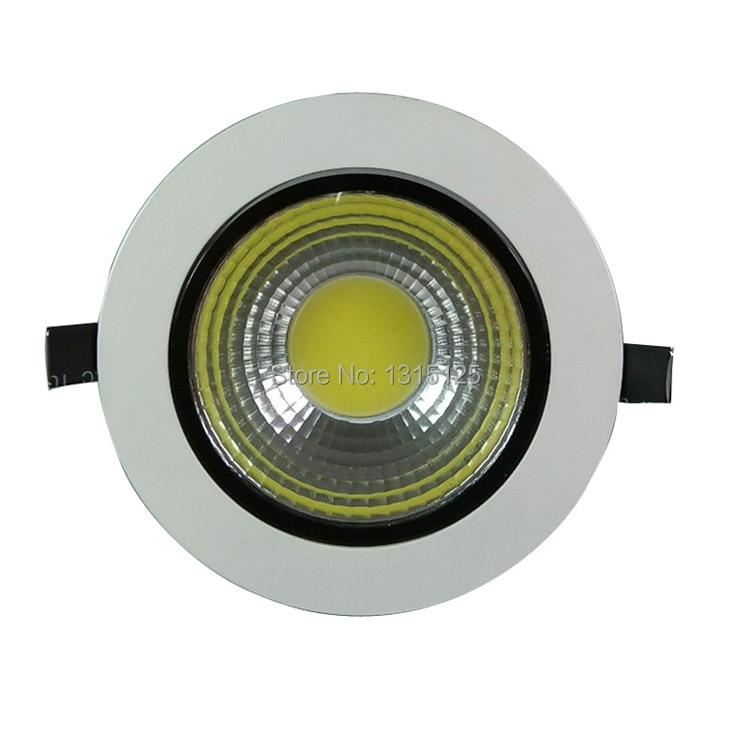 Hoge helderheid 5W 7W 9W 12W LED COB Plafondlamp Lamp Koel Wit / warm - Binnenverlichting