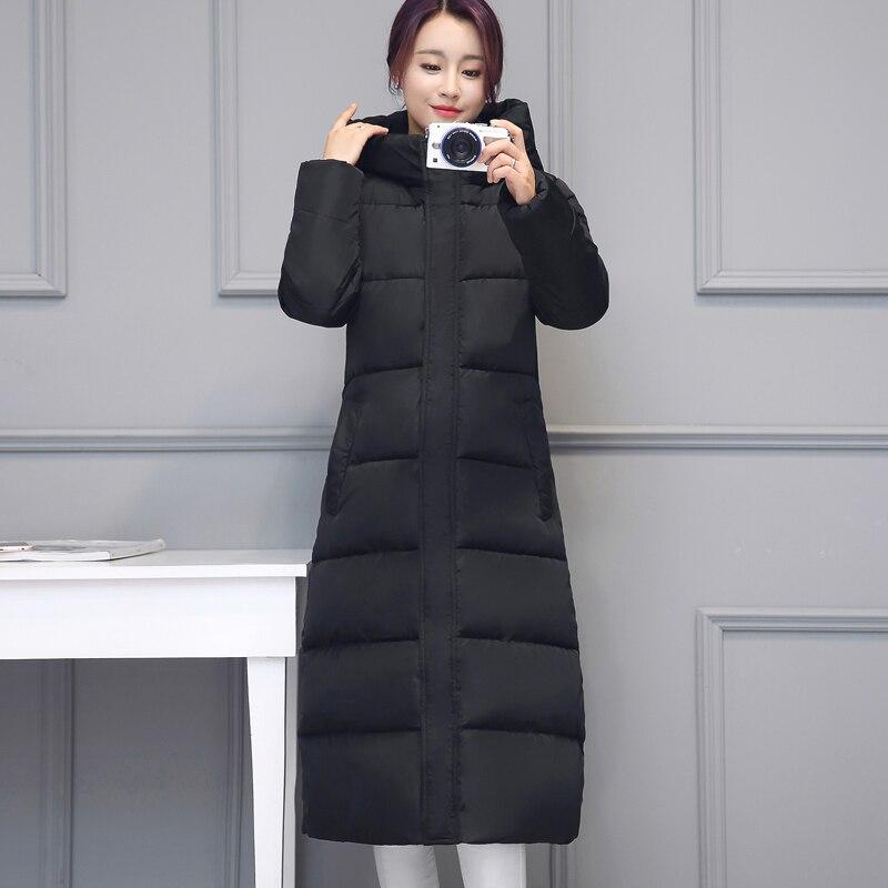 Hiver bleu army Manteau Taille Femelle Coton Nouvelle Et Court Femme Noir Green 2018 Automne Grande Rembourré D'hiver Plume gris rouge Mince Paragraphe gtqTZwEH