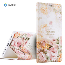 Luxury PU Leather 3D Relief Printing Stereo Feeling Flip Cover Case For xiaomi Redmi Note 4 With Stand Phone Bag Fundas Coque
