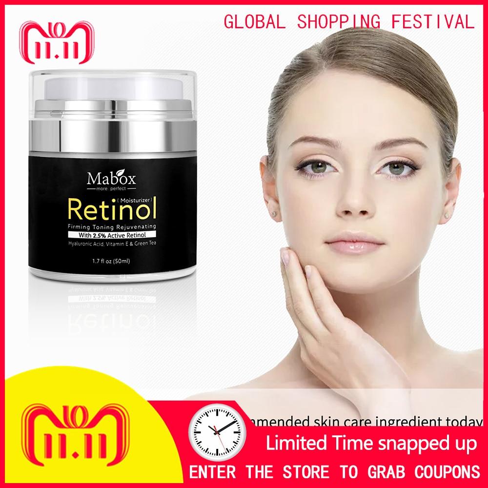 Retinol whitening moisturizing anti-aging anti-wrinkle cream helps reduce facial and neck wrinkles, vitamin a hyaluronic acid goowiiz белый vivo y67 v5
