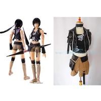 2016 Hot Gry Final Fantasy VII 7 Yuffie Kisaragi Cosplay Cos Kostiumy kobiety sexy halloween costume