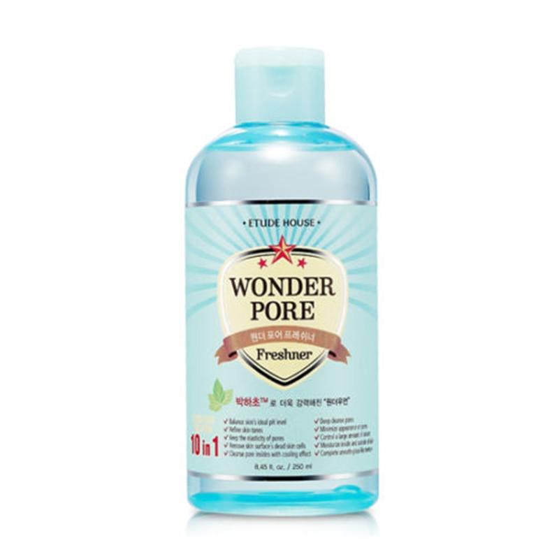 Korean Wonder Pore Freshner 10 in 1 Skin Care Face Cream Deep cleansing Blackhead Remover shrink Pores Essence Balances pH Level