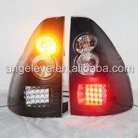 2003 2008year для Toyota Prado FJ120 LED Фонарь rearlights подсветкой черный Цвет V3 Тип