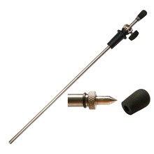 4/4 4/3 Cello Endpin Titanium solid rod & Titanium pipe with carbon hard rod inside SL813 5pcs of 4 4 cello endpin ebony steel rod cello parts