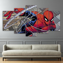 Spider Man Movie HD Print Painting Decorative Painting Canvas Wall Art Picture Home Decoration Living Room Canvas Painting gs 25 black
