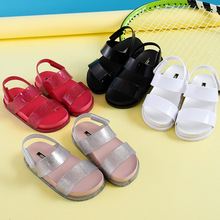 Mini Melissa Original Brand Girl Sandal Children Shoes Sandals for Girls Casual Wear-resistant Beach