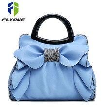 Flyone сумки модные брендовые сумки с верхней ручкой женские кожаные сумки с бантом роскошные женские сумки с бантом женские сумки