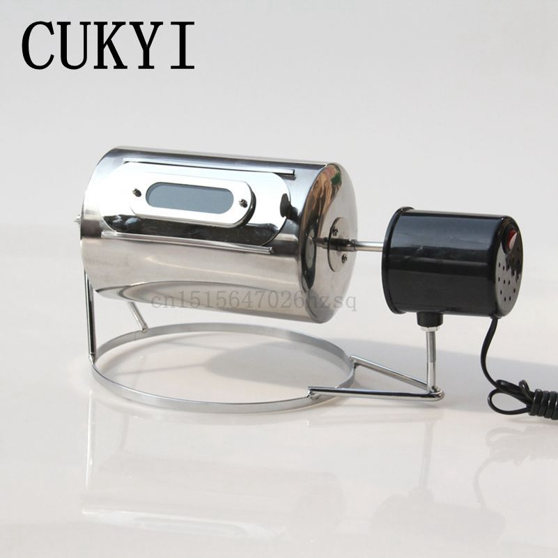 CUKYI 110V/220V Household electric Coffee Roasters 40W power stainless steel coffee bean roasting machine cukyi household electric multi function cooker 220v stainless steel colorful stew cook steam machine 5 in 1