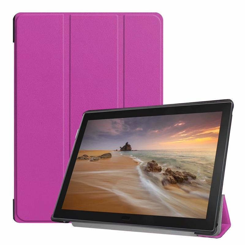 30pcs Ultra Slim Book Flip PU Leather Case Cover for Lenovo Tab E10 TB X104 10