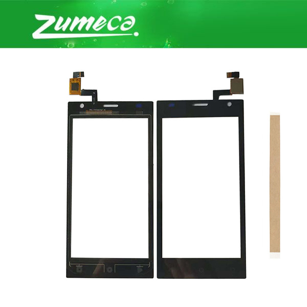 High Quality For Prestigio Wize OK3 PSP 3468 DUO PSP3468 DUO Touch Screen Digitizer Lens Glass Replacement Part Black Color+Tape image