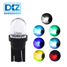 DXZ 2Pcs Multi Color Led Car Clearance Lights RGB T10 W5W 194 168 COB CANBUS Wedge Interior Lighting Source Accessories