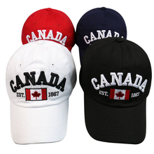 SUEF/2019 new Canadian flag baseball cap men and women spring and autumn outdoor sports sun hat fashion pop hat hat new men s baseball cap spring and autumn outdoor sports and leisure old man dad single cap