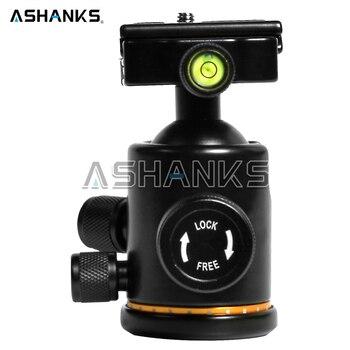 ASHANKS Camera Tripod Ball Head with Quick Release Plate 1/4″ Screw Mini Ballhead Max Load 6kg for Tripod Monopod Slider