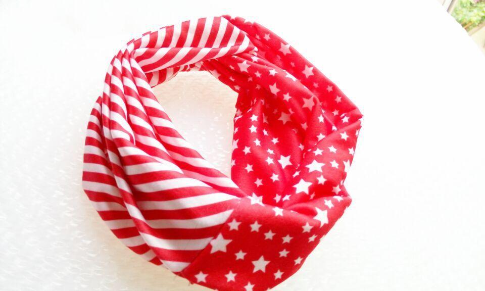 И розничная Модная хлопковая ткань с цветочным узором Тюрбан повязка на голову аксессуары для волос Популярные для женщин и девочек 12 см - Цвет: red star