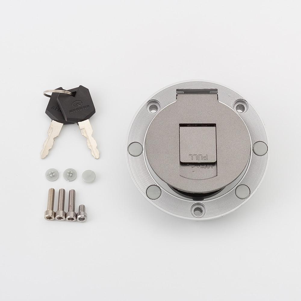 Fuel Gas Tank Cap Cover Key Tank for Yamaha YZF R1 R6 600 750 XJR1200 XJR400