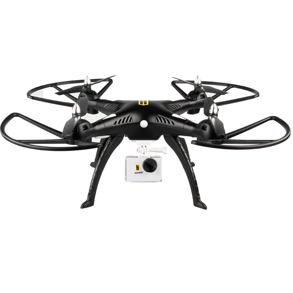RC Helicopter HUANQI 899B 2.4G 4CH 6-Axis Gyro FPV Remote Control Quadcopter with 2.0MP HD Camera RTF