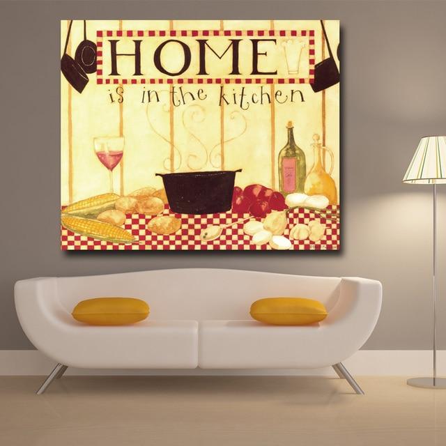 Fantastic Kitchen Wall Art Canvas Gallery - Wall Art Design ...