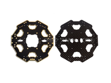 F07283 Tarot Carbon Fiber Folded Six-axis Center Plate TL68P01 Black for Tarot 680 PRO Aircraft h4 full carbon fiber folding fpv alien quadcopter aircraft quad copter center plate h680