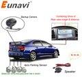 Двухъядерный процессор Eunavi автомобильный Видео парковочный датчик Видимый обратный резервный Радарный сигнал  отображение изображения и ...