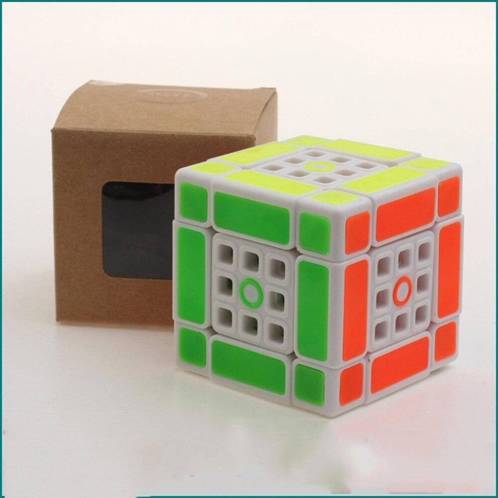 Fangshi Lim 2.1 double 3*3*3 Cubes magiques Puzzle Speed Cube jouets éducatifs cadeaux pour enfants enfants