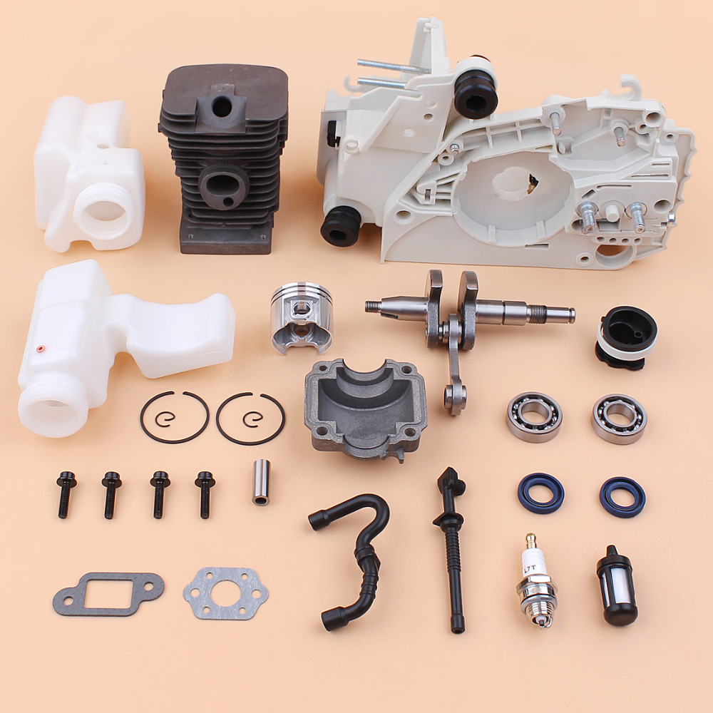 38mm Engine Crankcase Cylinder Crankshaft Rebuild Kit For STIHL MS180 MS170 018 017 MS 180 170 Chainsaw Motor Replacement Parts esveva 2018 women boots square high heels boots pu cow leather short plush pointed toe knee high boots ladies boots size 34 42