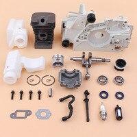 38mm motor cárter do cilindro virabrequim reconstruir kit para stihl ms180 ms170 018 017 ms 180 170 motosserra peças de reposição do motor|Motosserras|Ferramenta -