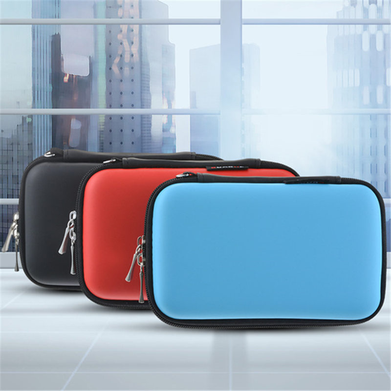 Earphone Wire Organizer Box Data Line Cables Storage Bags Digital Products Coin U Disk Container Protective Case For Headphones